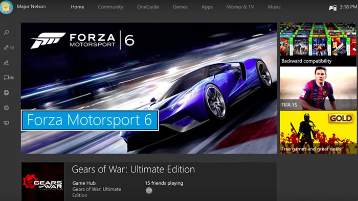 New Xbox One Experience and Backwards compatibility coming Nov 12th