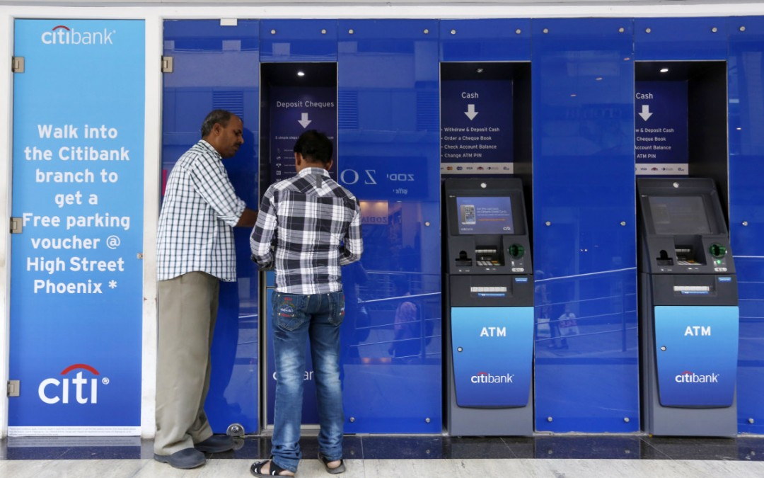 Future ATM's might scan your eye instead of using a PIN